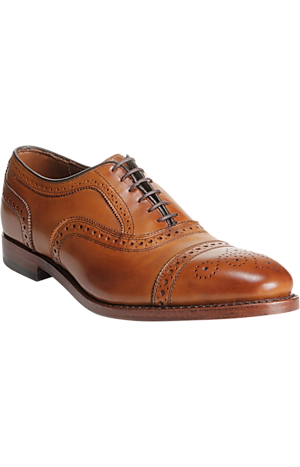 Men's Shoes, Allen Edmonds Strand Cap Toe Oxfords - Jos A Bank
