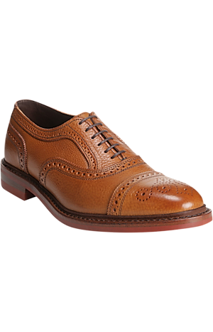 Men's Shoes, Allen Edmonds Strandmok Cap Toe Oxfords - Jos A Bank
