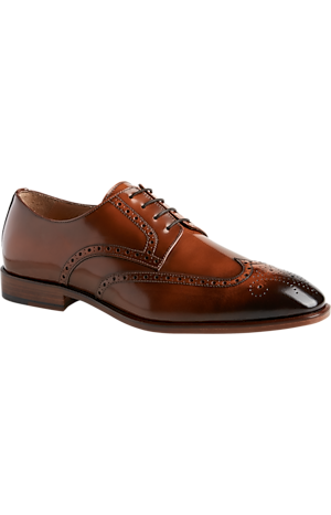 Men's Shoes, Giovacchini Sammy Wingtip Derbys - Jos A Bank
