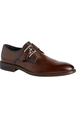 Men's Sale, Joseph Abboud Will II Brushed Finish Monk Strap Shoes - Jos A Bank