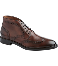 Men's Shoes, Joseph Abboud Crawford Wing Tip Chukka Boots - Jos A Bank