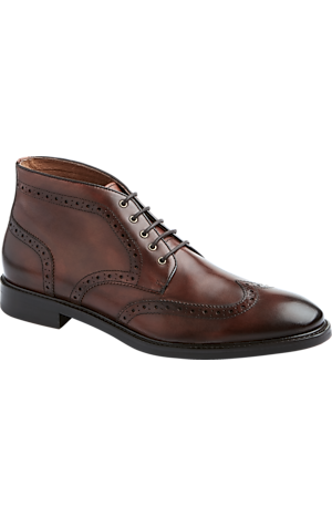 Men's Sale, Joseph Abboud Crawford Wing Tip Chukka Boots - Jos A Bank