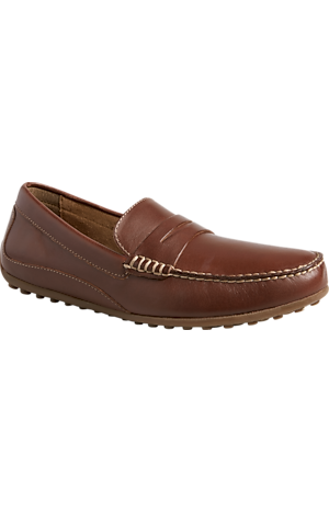 Men's Shoes, Florsheim Oval Penny Loafer - Jos A Bank