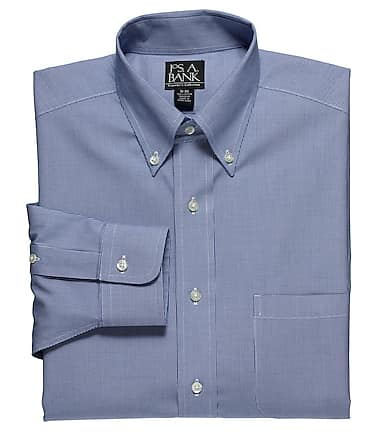8f22d26ce84 Traveler Collection Traditional Fit Button-Down Collar Micro Houndstooth  Dress Shirt #5J5L