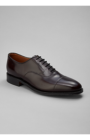 Men's Shoes, Johnston & Murphy Melton Cap Toe Oxfords - Jos A Bank