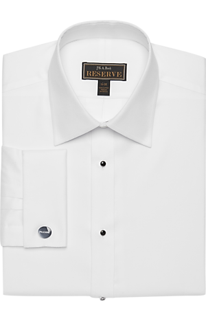 Reserve Collection Traditional Fit Point Collar Formal Dress Shirt - Big & Tall