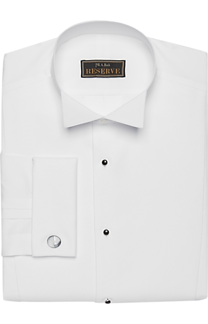 Men's Clearance, Reserve Collection Traditional Fit Wing Collar Formal Dress Shirt CLEARANCE - Jos A Bank