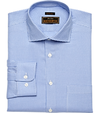 e9bc71f96b Men's Clearance, Reserve Collection Traditional Fit Cutaway Collar Check  Dress Shirt - Big & Tall