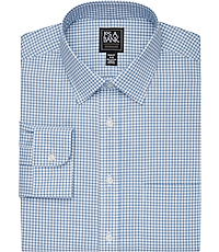 99757f54 Traveler Collection Slim Fit Spread Collar Tattersall Dress Shirt