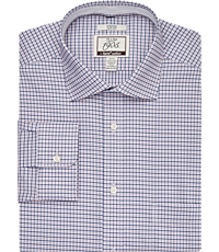25fa04f8 1905 Collection Slim Fit Spread Collar Mini Check Dress Shirt with brrr°  comfort