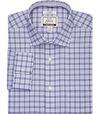 02f44ad0c1 1905 Collection Tailored Fit Spread Collar Plaid Dress Shirt with brrr°  comfort