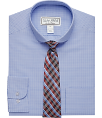 1905 Collection Boys Classic Fit Check Dress Shirt & Plaid Tie Set, by JoS. A. Bank