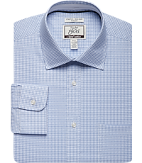2-Pack 1905 Collection Tailored Fit Spread Collar Check Sportshirt