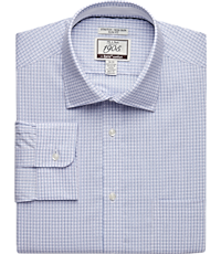 7bbc4425bc 1905 Collection Slim Fit Spread Collar Tattersall Dress Shirt with brrr°  comfort