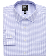 91d11b94 Traveler Collection Tailored Fit Spread Collar Plaid Dress Shirt