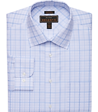 Men's Sale, Reserve Collection Traditional Fit Spread Collar Grid Dress Shirt - Big & Tall - Jos A Bank