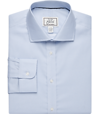 1905 Collection Slim Fit Cutaway Collar Patterned Dress Shirt - Big & Tall
