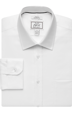 Men's FLYOUT_COLLECTION, 1905 Collection Tailored Fit Spread Collar Dress Shirt - Big & Tall - Jos A Bank