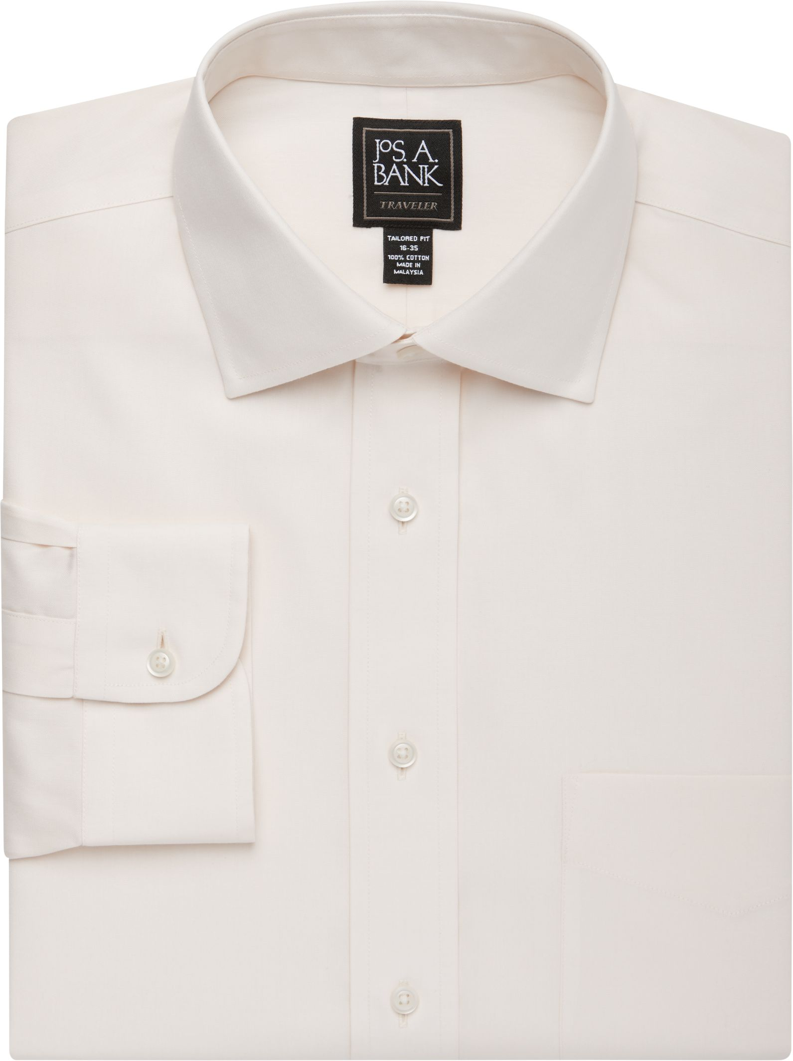 6054527a5 Traveler Collection Tailored Fit Spread Collar Dress Shirt  5AAY