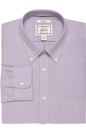Men's FLYOUT_COLLECTION, 1905 Collection Slim Fit Button-Down Collar Oxford Dress Shirt - Big & Tall - Jos A Bank