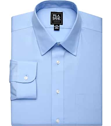 fb0e4d9dd06ec0 Traveler Collection Traditional Fit Point Collar Dress Shirt  5JAG
