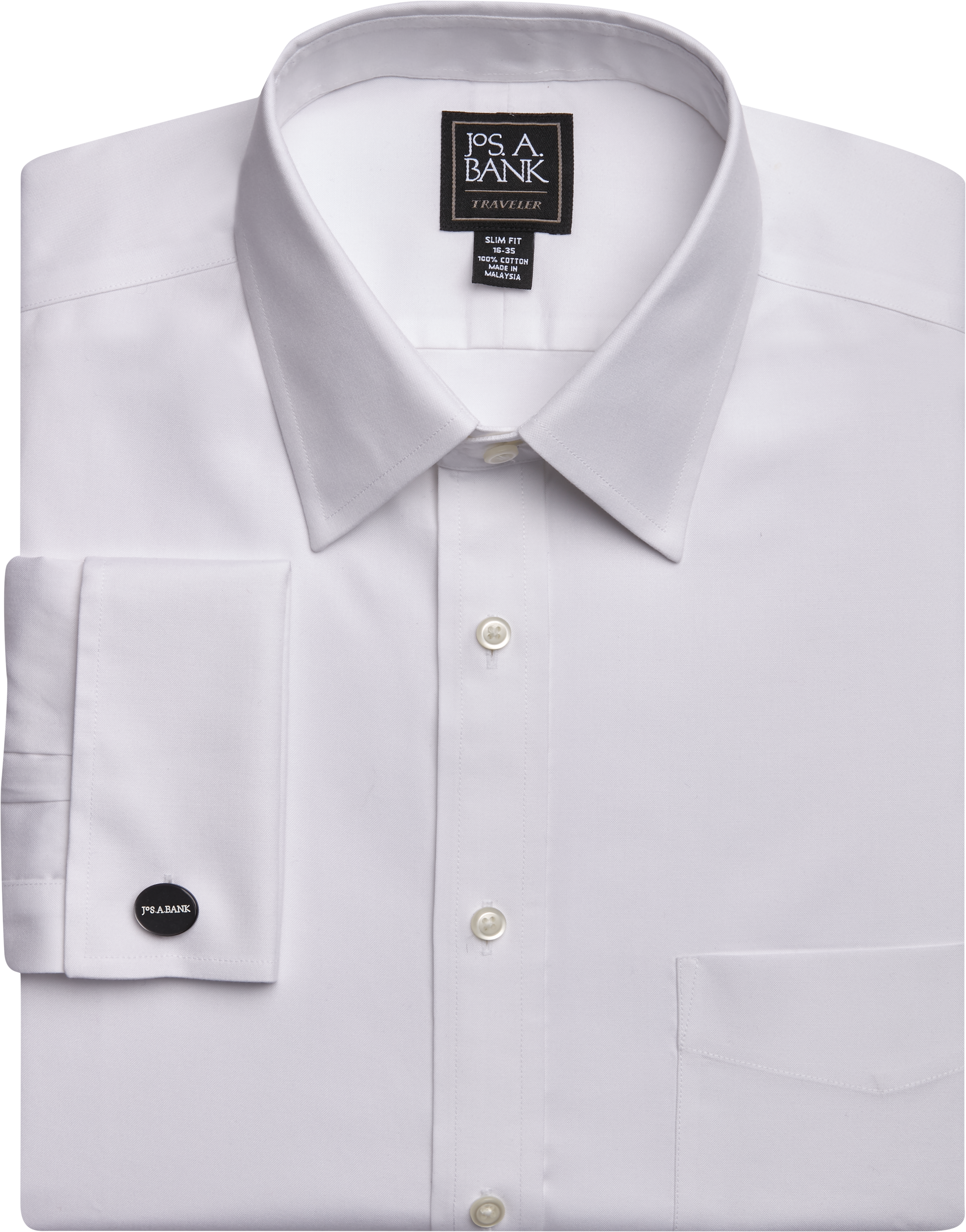 Enro Slim Boys Cotton Non-Iron French Cuff Shirt