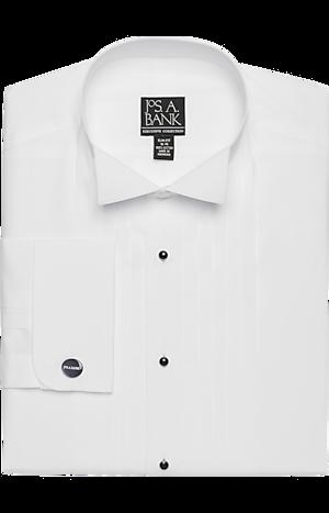 Men's Shirts, Executive Collection Slim Fit Wing Collar Formal Dress Shirt - Jos A Bank