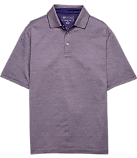David Leadbetter Traditional Fit Short-Sleeve Polo Shirt
