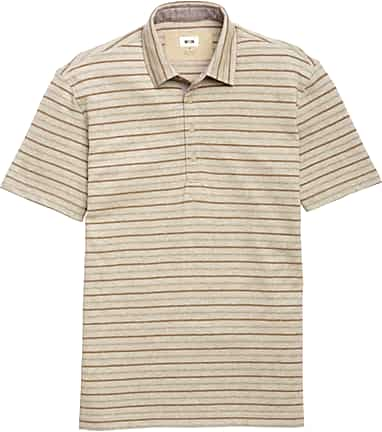 69adc03df Joseph Abboud Heritage Tailored Fit Short Sleeve Stripe Polo CLEARANCE #61A2