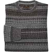 Deals on Jos. A. Bank Reserve Collection Fair Isle Tailored Fit Sweater