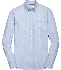 4c4a6f4ac 1905 Collection Traditional Fit Button-Down Collar Stripe Sportshirt - Big  & Tall CLEARANCE