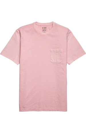 Men's Clearance, 1905 Tailored Fit Garment Dyed Slub T-Shirt CLEARANCE - Jos A Bank