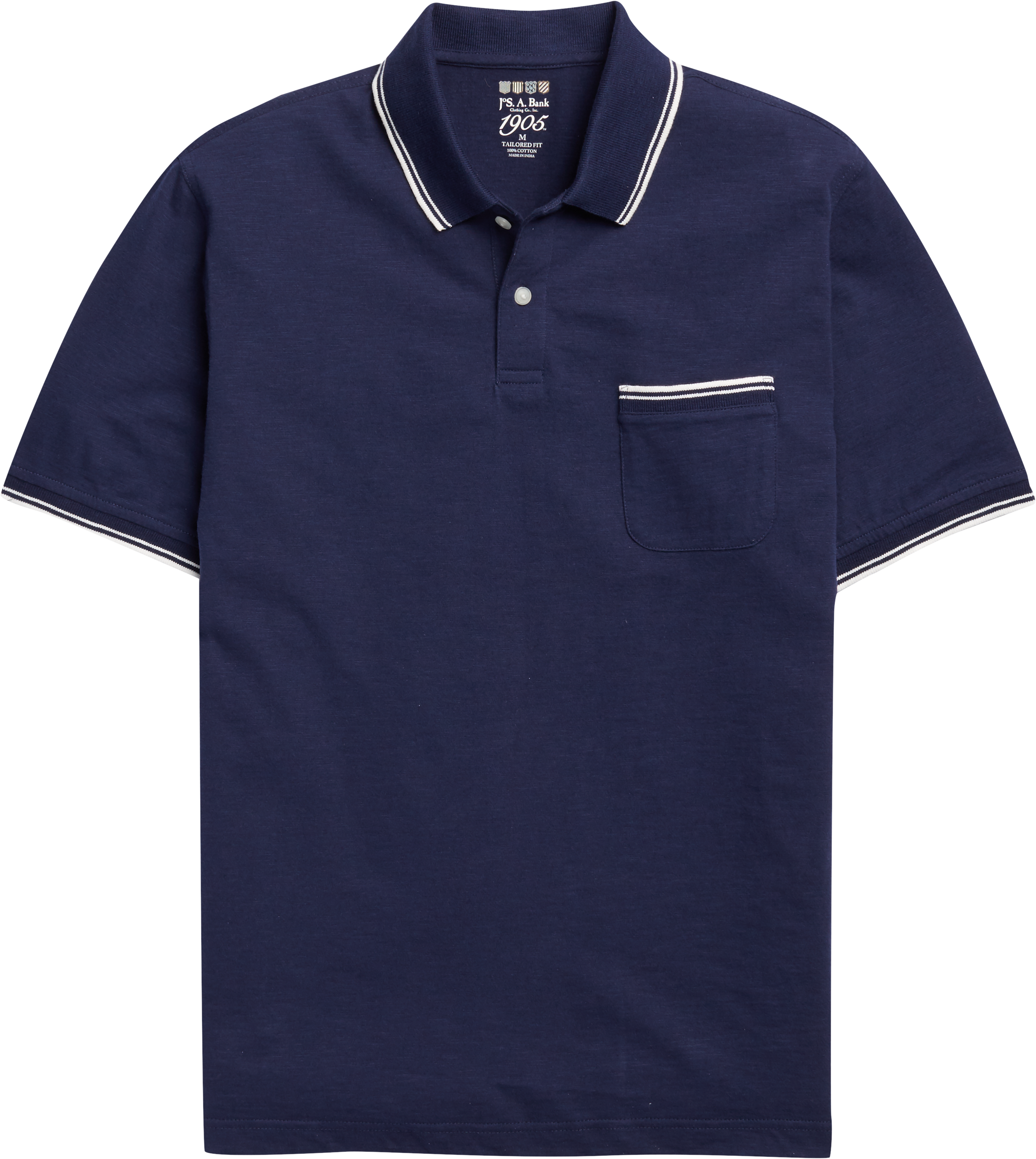 8b9cb01b 1905 Collection Traditional Fit Polo Shirt - Big & Tall CLEARANCE #62GG