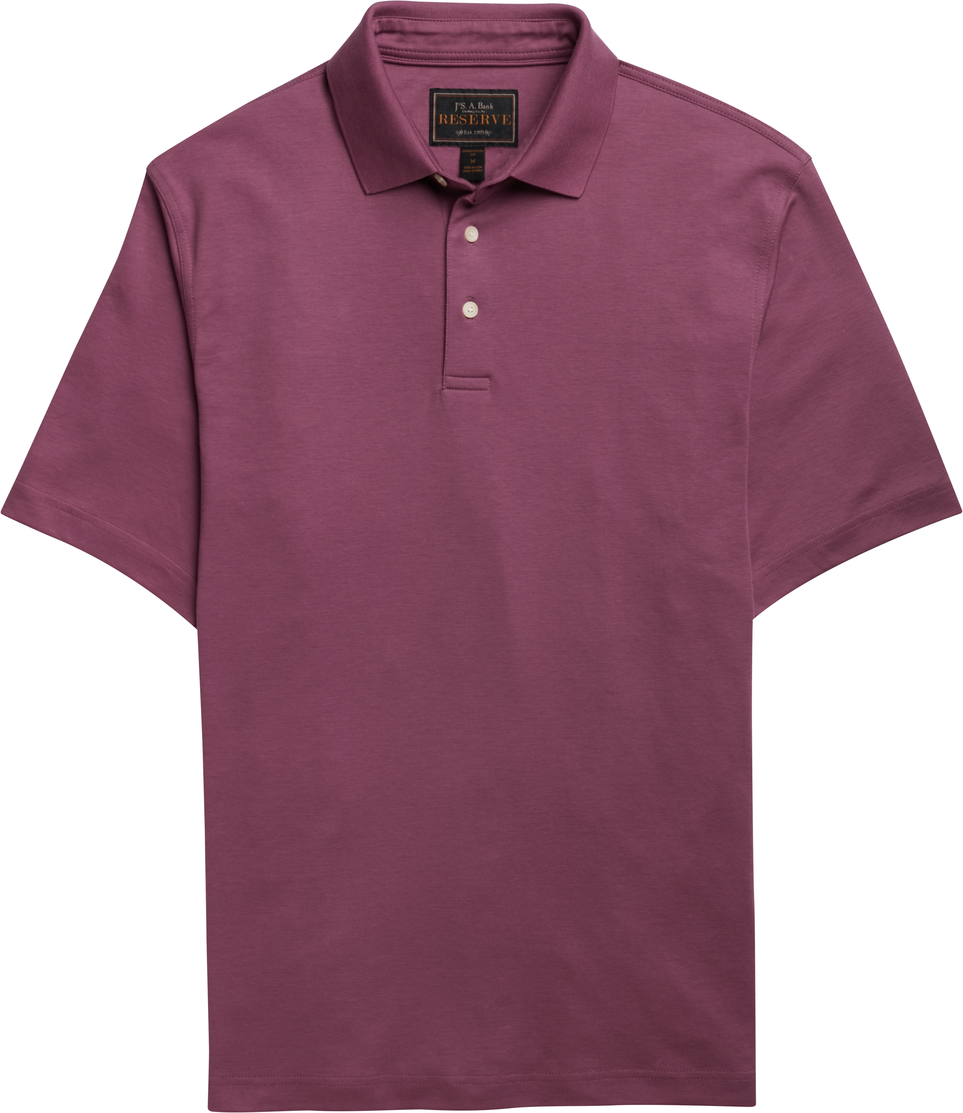 fd3388f879 Reserve Collection Traditional Fit Short Sleeve Pima Cotton Polo