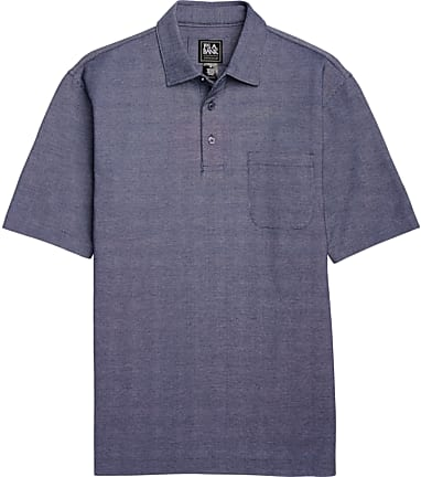 a8f7e28f Traveler Collection Traditional Fit Cotton Oxford Short-Sleeve Polo Shirt -  Big & Tall CLEARANCE #62JN
