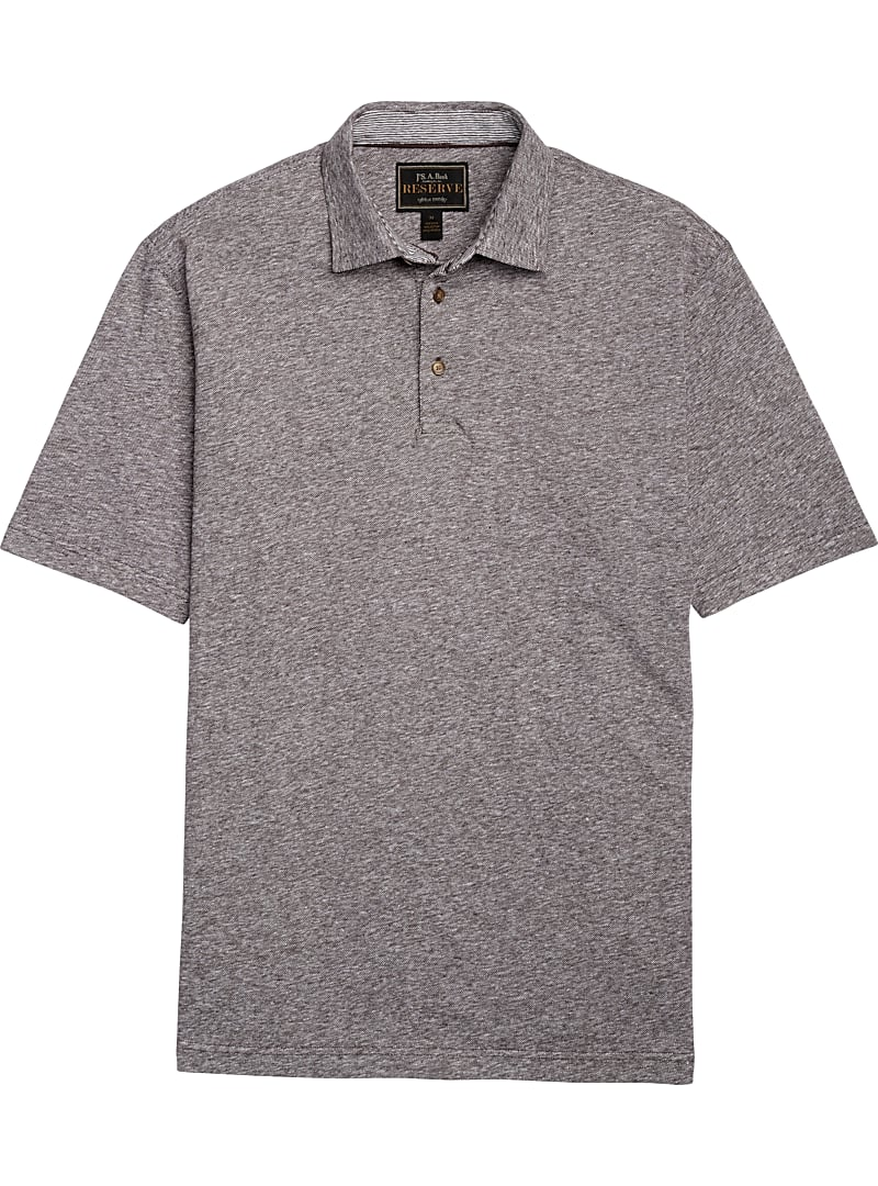 Reserve Collection Traditional Fit Short-Sleeve Pique Polo Shirt