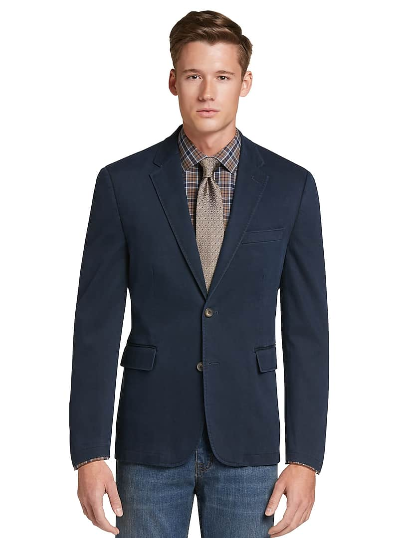 1905 Collection Tailored Fit Canvas Soft Jacket