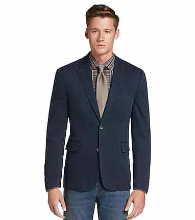 97816b42919 1905 Collection Tailored Fit Canvas Soft Jacket CLEARANCE - All ...