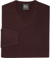 Men's Clearance, Traveler Collection V-Neck Cashmere Sweater CLEARANCE - Jos A Bank