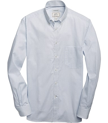29235e225 1905 Collection Tailored Fit Button-Down Collar Paisley Oxford Sportshirt -  Big & Tall CLEARANCE #63Y6