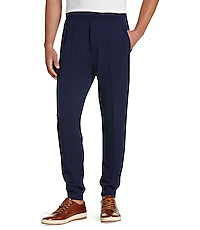 1905 Collection Tailored Fit Athleisure Pants