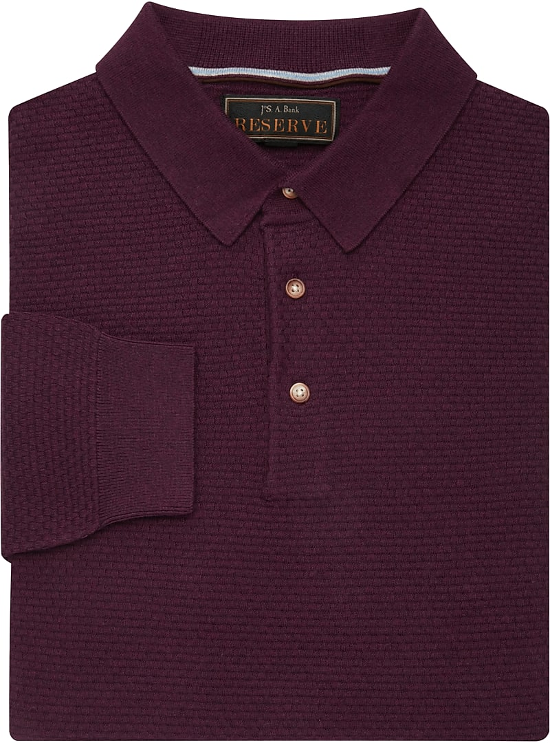 Reserve Collection Tailored Fit Polo Sweater