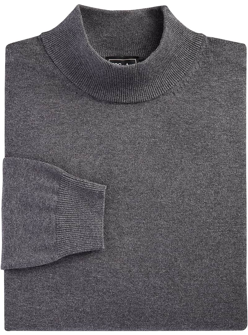 Traveler Collection Pima Cotton Mock Neck Sweater