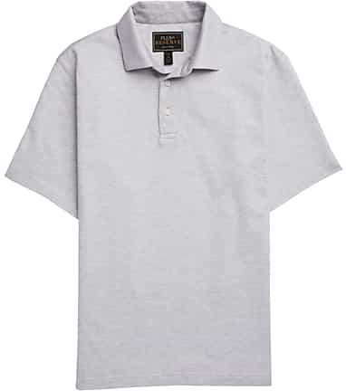 1c4ed5290 Reserve Collection Traditional Fit Dot Pique Short Sleeve Polo #66CG