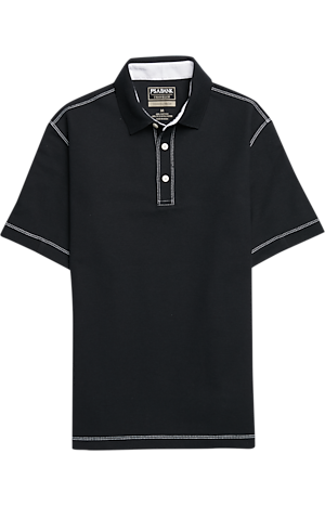 Men's Sale, Travel Tech Collection Tailored Fit Short Sleeve Polo - Jos A Bank