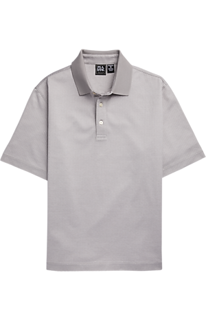 Men's Shirts, Traveler Performance Traditional Fit Short Sleeve Polo - Jos A Bank