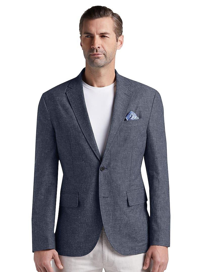Jos. A. Bank Men's Reserve Collection Tailored Fit Casual Jacket