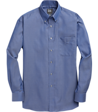 Men's FLYOUT_CATEGORY, Traveler Collection Traditional Fit Button-Down Collar Sportshirt - Big & Tall - Jos A Bank
