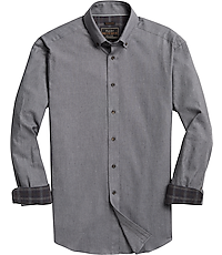 Men's Sale, Reserve Collection Traditional Fit Button-Down Collar Check Sportshirt - Jos A Bank