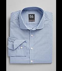 Boys Young Kings by Steve Harvey $40 Dk Blue w// Fl Pattern Dress Shirt Sz 8-20